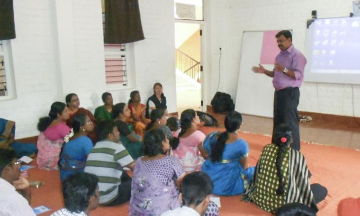 Isha Vidhya Teachers
