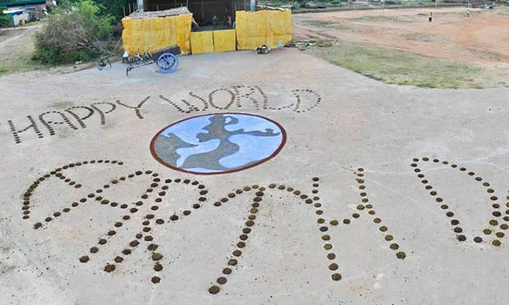 Earth Day Celebrations at Isha Yoga Center