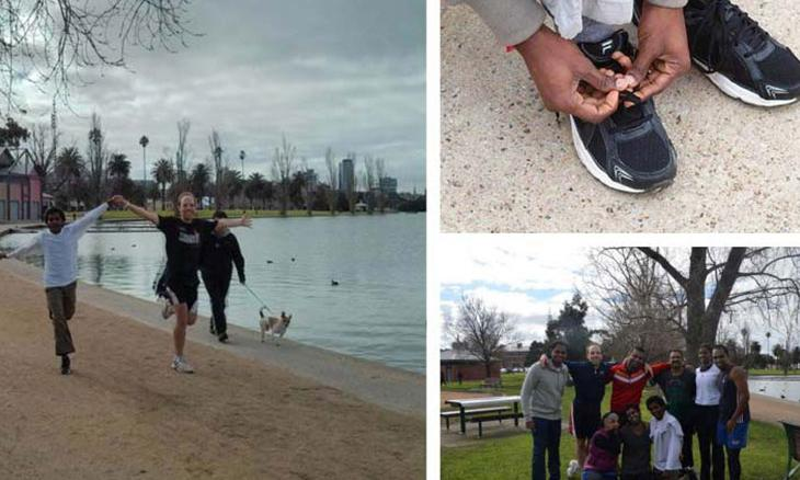 Isha Volunteers Gear up for Run Melbourne!