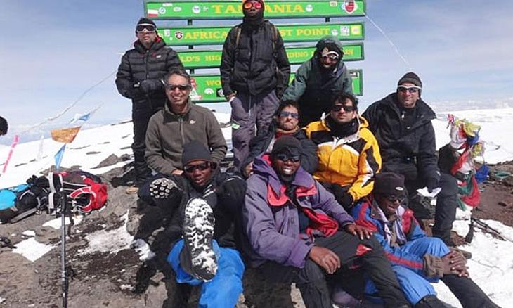 Climbing Mt. Kilimanjaro for Isha Vidhya