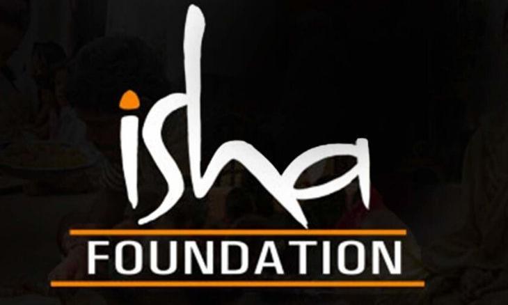 Isha Foundation logo CMS