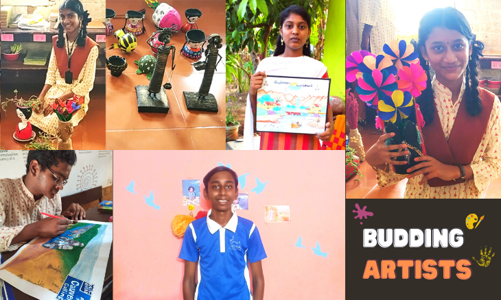 Isha Vidhya Budding Artists