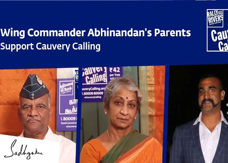 Wing Commander Abhinandan's Parents Support Cauvery Calling